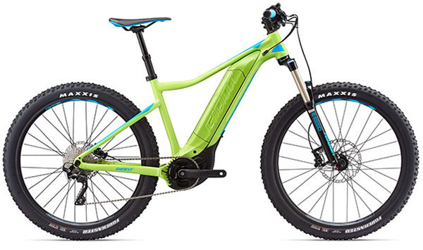 Standard battery with battery covers for the 2018 Giant Dirt E+2 Pro
