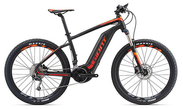Standard battery with battery covers for the 2018 Giant Dirt E+2